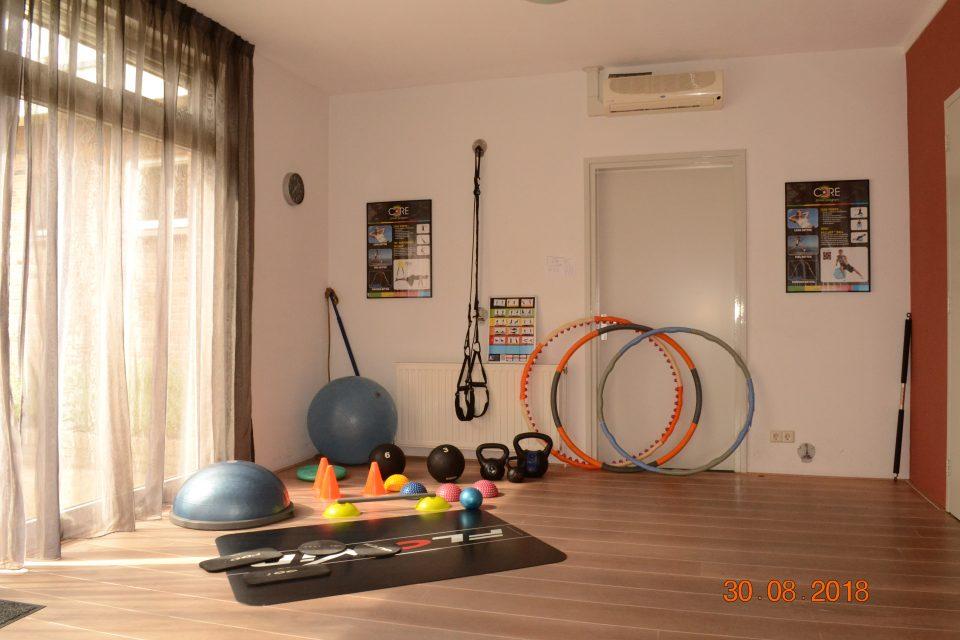 oefenmateriaal voor de corepower bij Provitaal Fysiotherapie Meeden