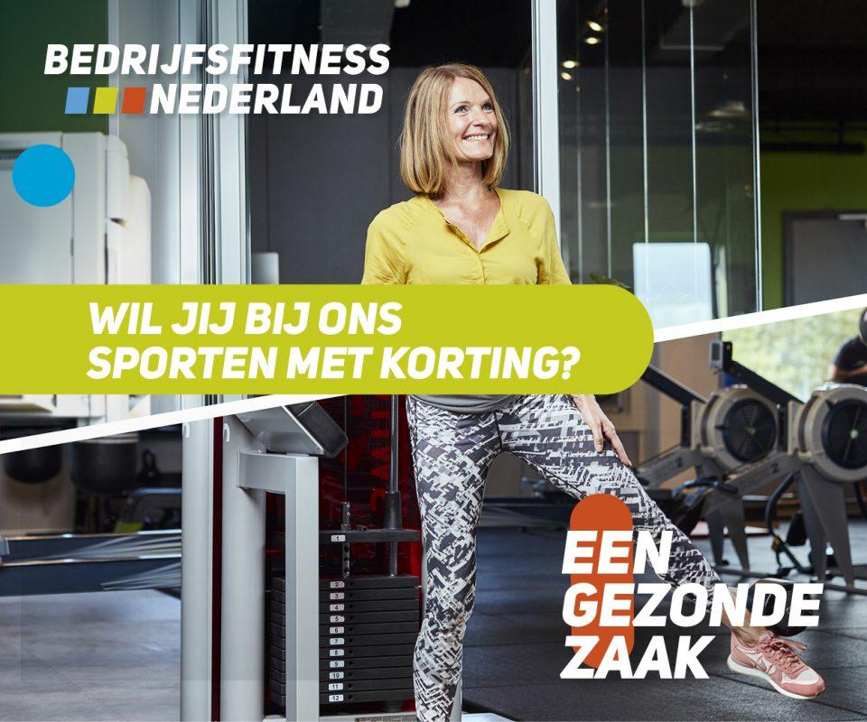 sporten bij Provitaal Fysiotherapie Meeden- Banner Bedrijfsfitness Nederland (fitness)