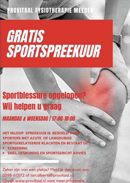 Provitaal-Fysiotherapie-Meeden/gratis-sportspreekuur